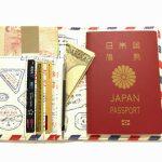 パスポートケースを新調しました。旅行に必要な小物を収納出来ます。